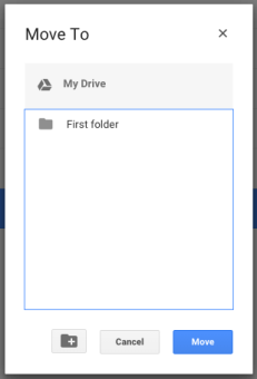 Moving a file 3 - Move to box