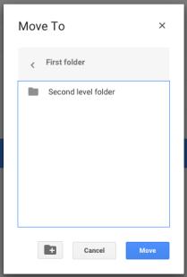 Moving a file 3 - Sub folder