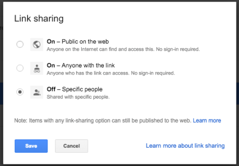 Sharing - LinkSharing