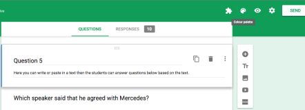 google forms 9 changing the background learning g suite apps