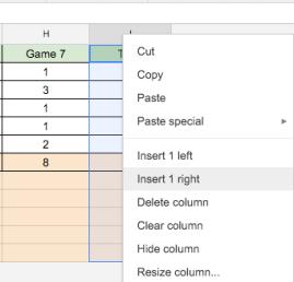 Google Sheets (6) – Controlling rows & columns-Part 2