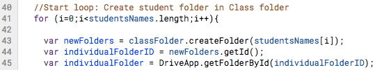 Class Folders - 19