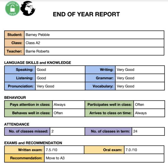 Kids Reports - 53